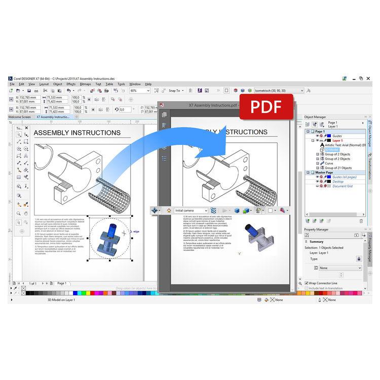 Corel CorelDRAW Technical Suite X7 CDTSX7MLDVDA B&H Photo Video