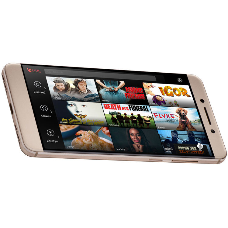 LeEco Le Pro3 X727 64GB Smartphone (Unlocked, Gold)