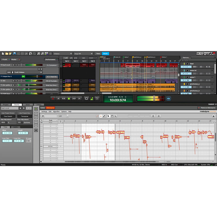 Acoustica Mixcraft 8 Recording Studio - Music Production Software (Download)