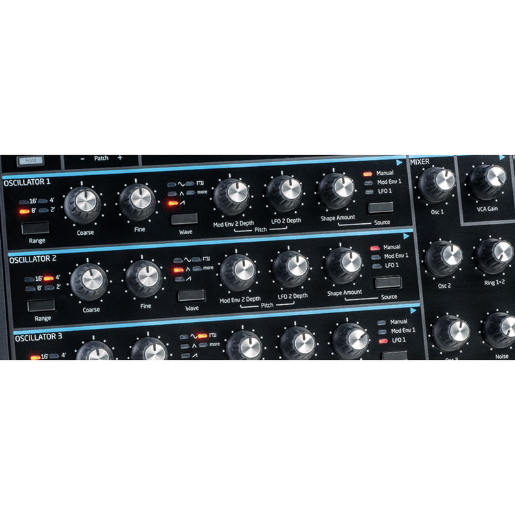 Novation Peak 8-Voice Polyphonic Synthesizer