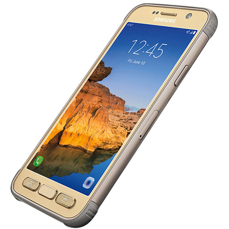 Samsung Galaxy S7 Active SM-G891A 32GB AT&T Branded Smartphone (Unlocked,  Sandy Gold)