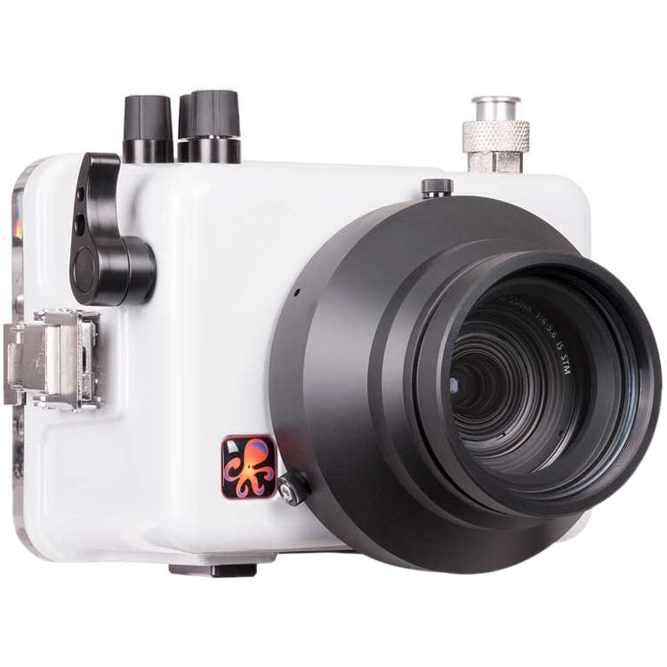Ikelite 200DLM/C Underwater TTL Housing for Canon EOS Rebel SL2 with 6