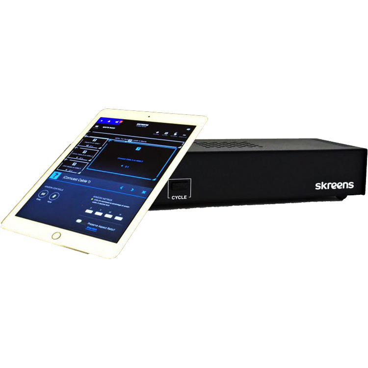 Skreens Broadcast Studio-in-a-Box for HDMI to IP Streaming