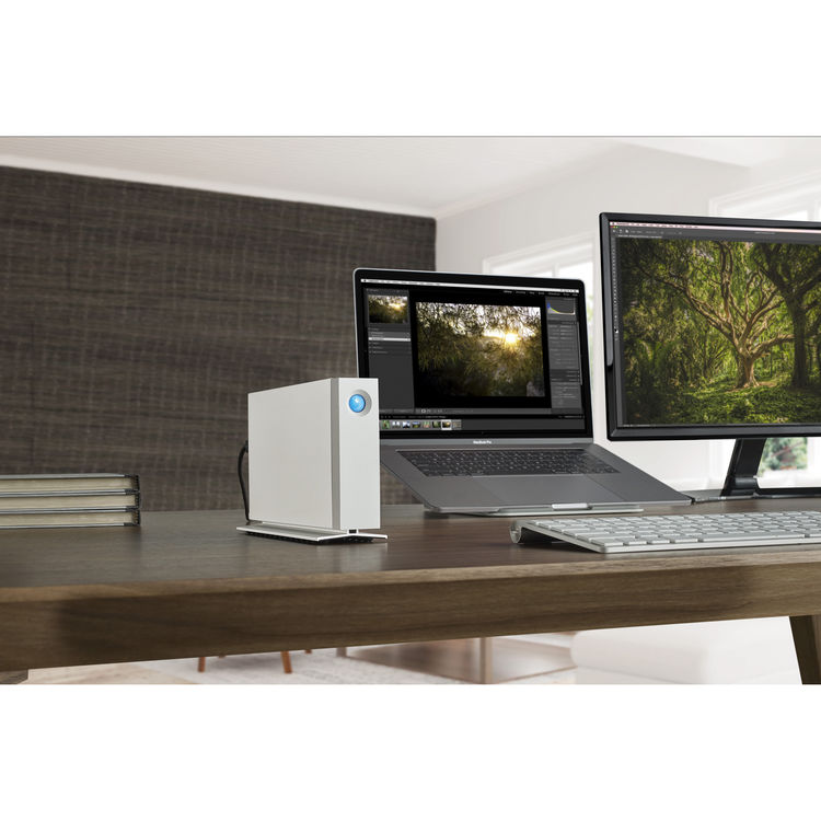 Lacie 10tb D2 Thunderbolt 3 Desktop Drive