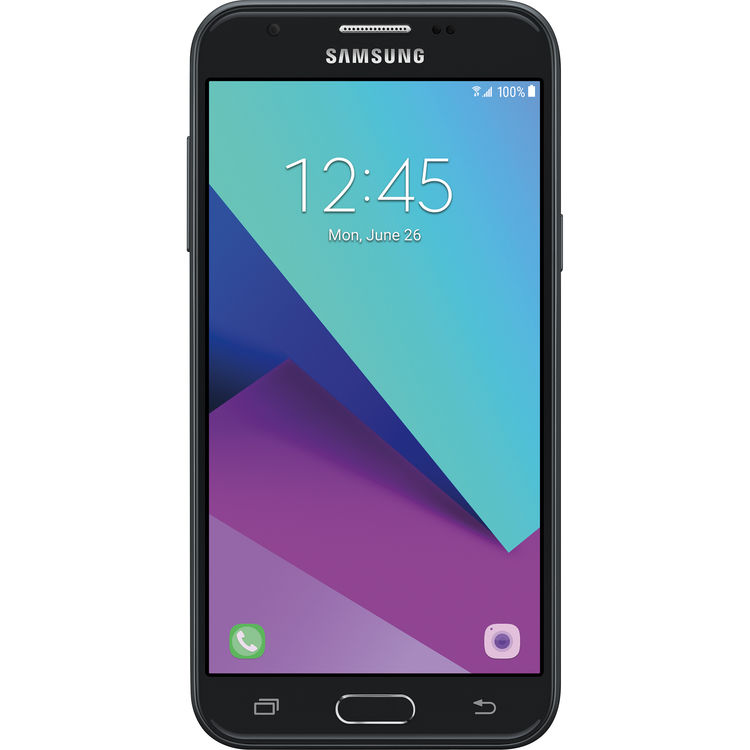 Samsung Galaxy J3 Express Prime 2 SM-J327A 16GB Smartphone (AT&T, Silver)