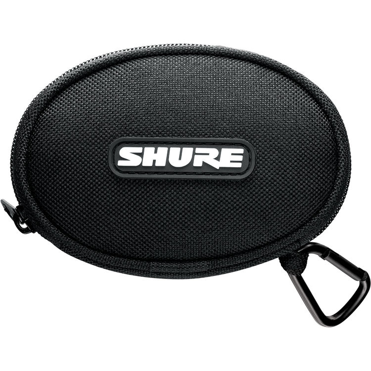 Shure SE215 Sound-Isolating In-Ear Stereo Earphones with 3 5mm Remote and  Mic Cable (Clear)