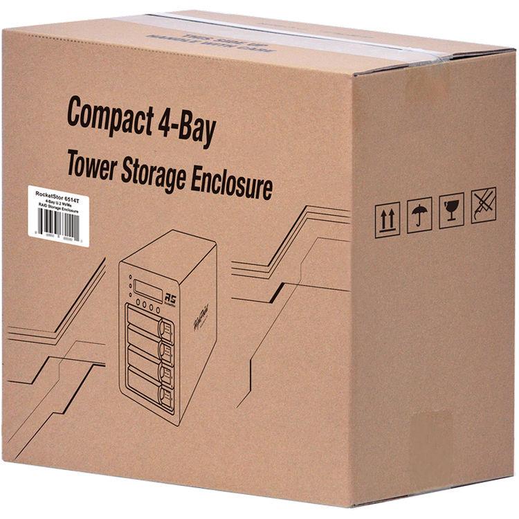 HighPoint SSD6540 4-Bay PCIe 3 0 RAID Array