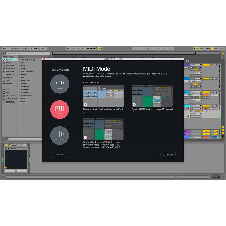 iZotope VocalSynth 2 - Vocal Resynthesis and Harmony 20-VS2CRG