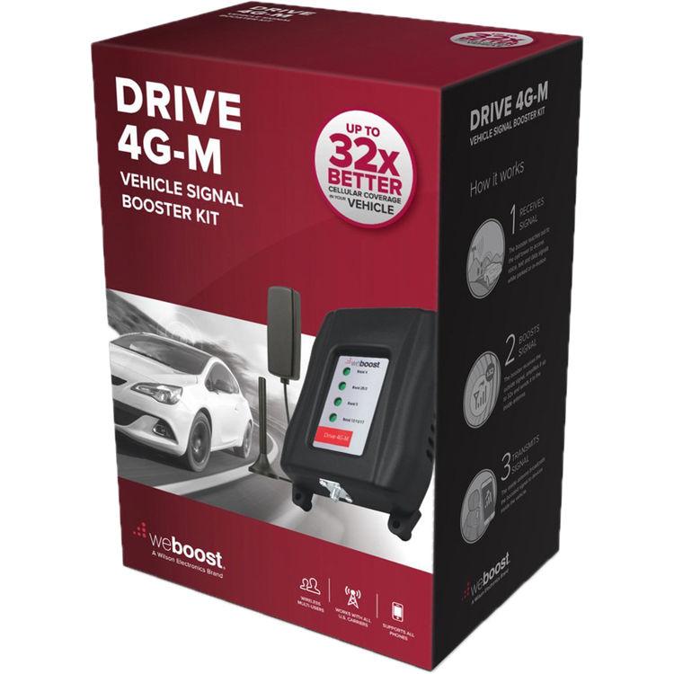 weBoost Drive 4G-M 3G/4G LTE Signal Booster