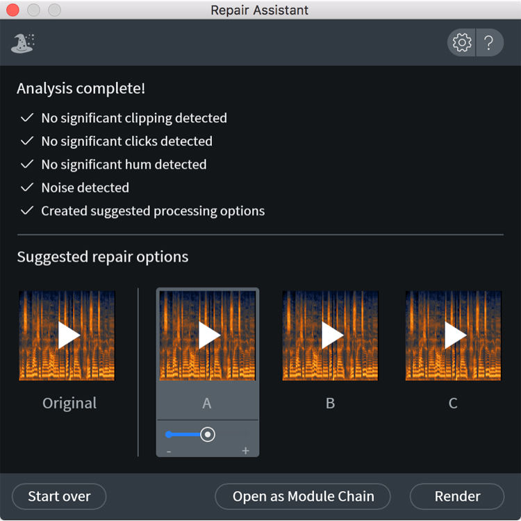 iZotope RX 7 Advanced - Audio Restoration and 10-RX7ADV B&H