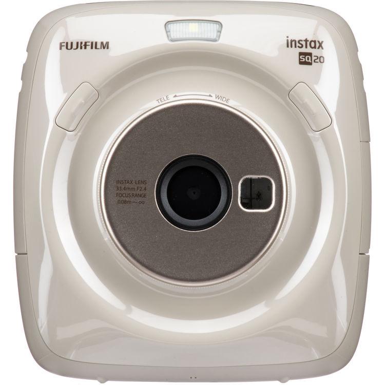 Instax Instant Sq20 Fujifilm Camerabeige Hybrid Square FJlTK3c1