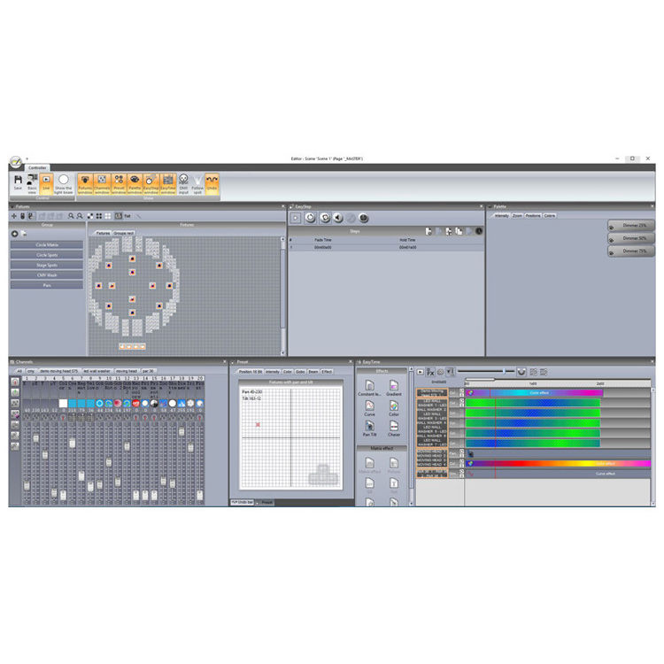 ArKaos DMX-PC Interface Software, 1 X Dmx Universe, 3D Visualizer, Midi  Live Control