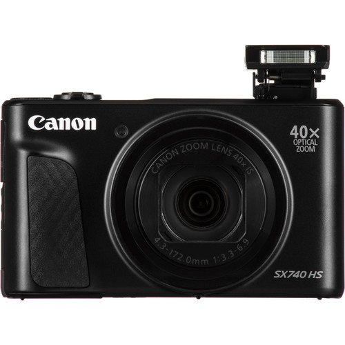 Canon Powershot Sx740 Hs Digital Camera Black 2955c001 B H