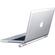 With Macbook Back View
