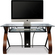Bell O Computer Desk With Curved Wood Sides Cd8841 B Amp H Photo