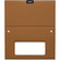 Optional Tan Leather Cover